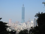 View of Taipei 101, or the Take-out Tower
